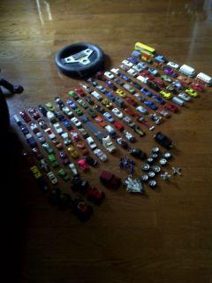 Over 100 Car Lot Mattel Hot Wheels Matchbox and More