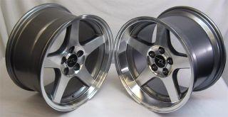 Deep Dish Mustang ® 03 Style Wheels 17x9 17x10 5 Fits SVT 1994 2004