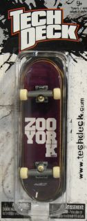 Tech Deck Checklane Zoo York Skateboards Forrest Kirby Fingerboard