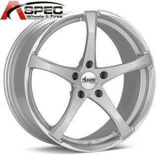18 Denaro 5x120 Silver Wheel Fit BMW E46 E90 E91 323 325 328 330 335i
