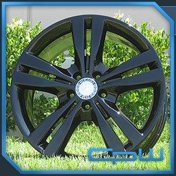 GLOSS BLACK 2012 MERCEDES BENZ ML ML350 WHEELS RIMS FACTORY ORIGINA