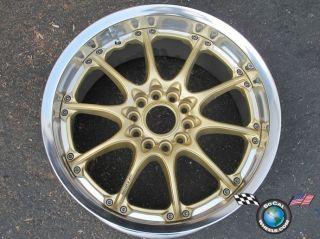 One Volk Racing Mustang Acura NSX 17x9 GT N Gold Wheel Rim 5x4 5 37