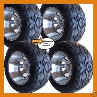 Over Size Tires Wheels Fits EZGO Club Car Yamaha Harley