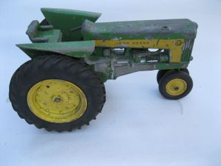 Vintage John Deere 730 Metal Rim Farm Toy Tractor