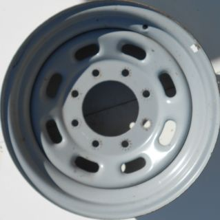 16 Ford F 250 F 350 Excursion Silver Steel Rim 3340 Factory Wheel