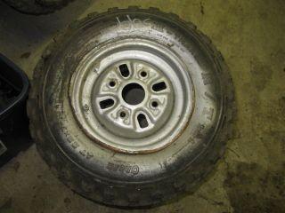 Honda Odyssey ATV FL 350 400 Stock Front Rim Tire Wheel Pilot 66s