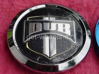 Center Cap for New Generation Dub Spinners Floaters Chrome MHT Wheels