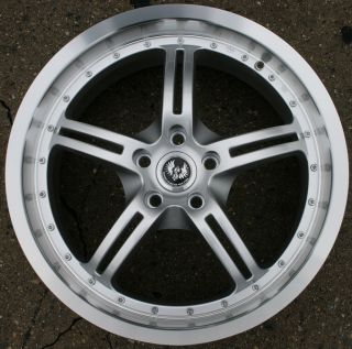 Stern Jock Face 19 H Silver Rims Wheels Lincoln LS 00 07 19 x 8 5 5H