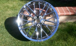 C6 ZR1 Original Corvette Factoy GM 20x12 Chrome Wheel Rim