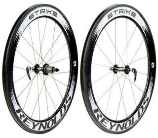 Strike Carbon Clincher Road Bike Wheels Wheelset 66mm Rim Depth