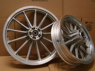 Dyna FXD Lowrider Wideglide Wide Glide Front Rear Wheels Rims