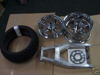Tire Kit CBR zx14 R1 GSXR Hayabusa 300 330 360 Chrome Suzuki