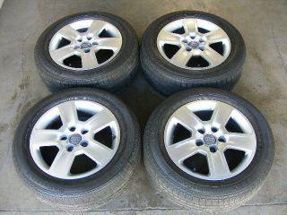 Wheels Original B5 B6 06 07 Factory Tires Continental Set Rims