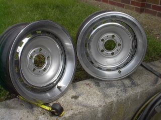 Mopar Dodge Plymouth Rally Wheels 15 inch Big Bolt Pattern