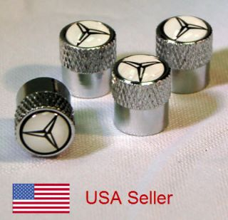 Mercedes Tire Valve Stem Cap Covers Fast USA Shipping