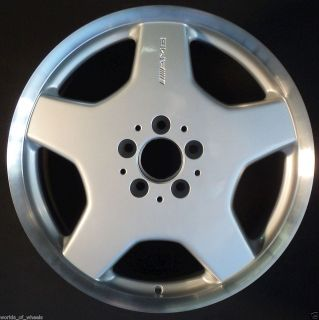 00 01 02 Mercedes AMG S420 S430 S500 S600 18 Front OEM Factory Wheel H