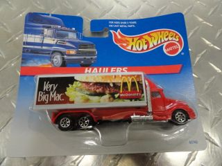Mattel Hot Wheels Haulers Collection McDonalds Big Mac