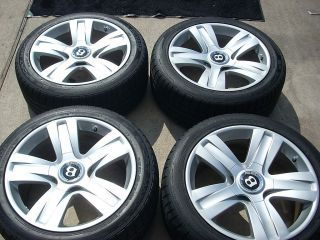 Bentley Flying Spur Continental GT GTC Wheels Tires Rims Dunlop