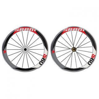 2012 SRAM S60 RED WHEELSET 700C WHEEL SET FRONT AND REAR CARBON
