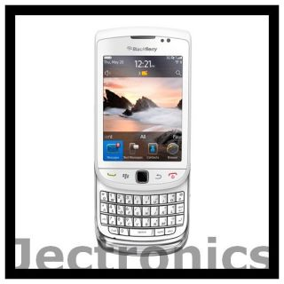 New Rim Blackberry Torch 9810 4G Unlocked White Phone