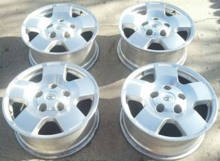 18 Toyota Tundra Sequoia Land Cruiser Factory Wheels Rims TRD
