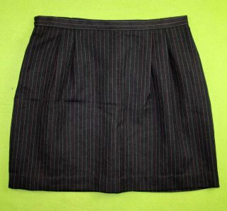 Kathie Lee Sz 14 Womens Dark Gray Career Office Skirt JB12