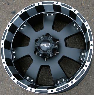 Incubus Krawler 815 20 Black Rims Wheels Toyota Tacoma Tundra 6H