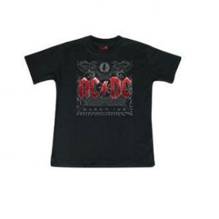 AC/DC   Black Ice   Kinder T Shirt   Schwarz Bekleidung