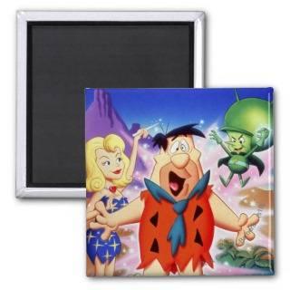 Fred Flintstone Under A Spell Magnet