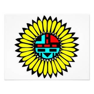 Native American Indian Art #013 Custom Invites