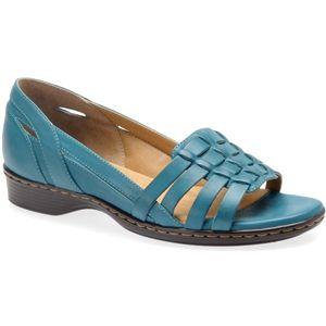 Softspots Womens Hugh Sport Blue Sandals   7325907