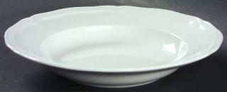 Villeroy & Boch Chambord (White,Fine China,Germany) Large Rim Soup Bowl, Fine Ch
