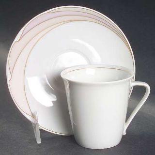 Hutschenreuther En Vogue Flat Cup & Saucer Set, Fine China Dinnerware   MaximS