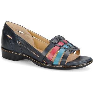Softspots Womens Hugh Blue Multi Sandals   7325997