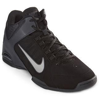 brand new fcfb5 31427 Nike Air Visi Pro IV Mens Basketball Shoes, Black Gray