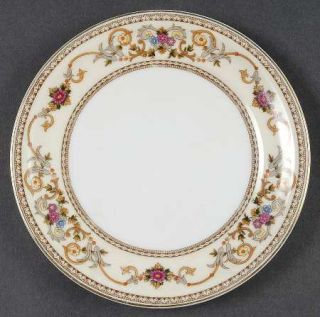 Royal Embassy Wheeling (Japan) Bread & Butter Plate, Fine China Dinnerware   Flo