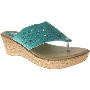 Spring Step Womens Foamy Turquoise Sandals   Foamy TQ