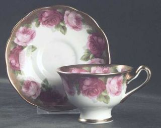 Royal Albert Mothers Day Footed Cup & Saucer Set, Fine China Dinnerware   Bone,P