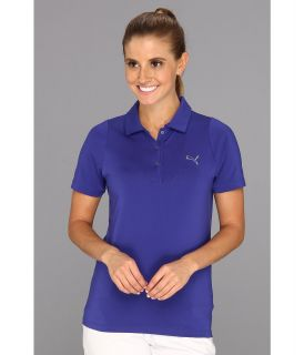 PUMA Golf Duo Swing Polo 13 Womens Short Sleeve Knit (Blue