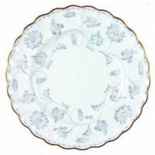 Spode Colonel Gray (Gold) Bread & Butter Plate, Fine China Dinnerware   Gray Flo
