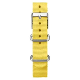 Timex Midsize Weekender Replacement Strap   Bright Yellow