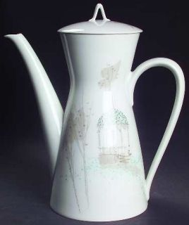 Rosenthal   Continental Rendezvous Coffee Pot & Lid, Fine China Dinnerware   Gaz