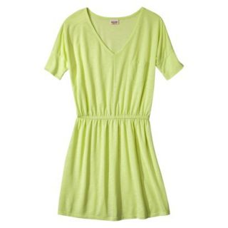 Mossimo Supply Co. Juniors V Neck Dress   Limesand XXL(19)