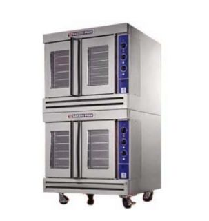 Bakers Pride Double Full Size Electric Convection Oven   208/3v