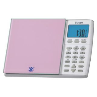Taylor 6.6 Pound Biggest Loser Nutrition Scale   Pink