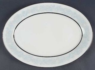 Oxford (Div of Lenox) Twilight Dell 13 Oval Serving Platter, Fine China Dinnerw