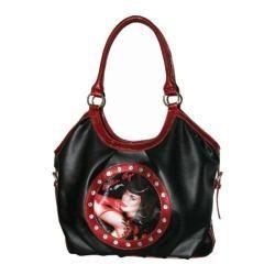 Womens Bettie Page Signature Product Bettie Page??? Bag Vixen1012 Black