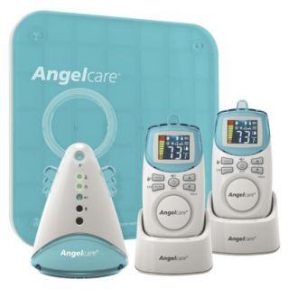 Angelcare AC401 2P Deluxe Movement and Sound Monitor with 2 Rechargeable Parent