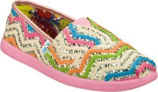 Infant/Toddler Girls Skechers BOBS World Fancy Dance   Pink/Multi Alpargatas