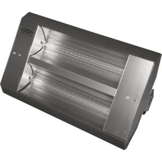 TPI Indoor/Outdoor Quartz Infrared Heater   10,922 BTU, 208 Volts, Galvanized